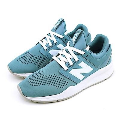 New-Balance 女休閒鞋 WS247UF-B 綠