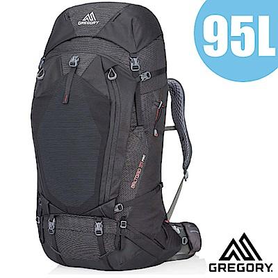 美國 GREGORY 新款 Baltoro Pro 95 專業健行登山背包M_火山黑