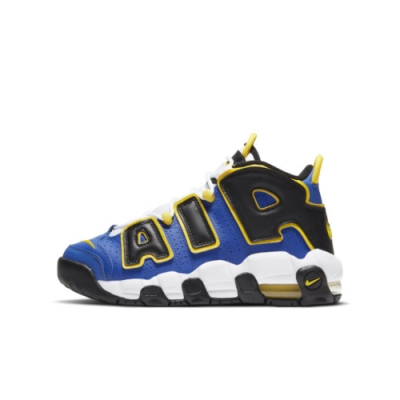 NIKE AIR MORE UPTEMPO (GS) 大童休閒鞋-藍-DC7300400