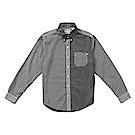 Timberland 男款格子黑補丁長袖襯衫 | A1NNGP06