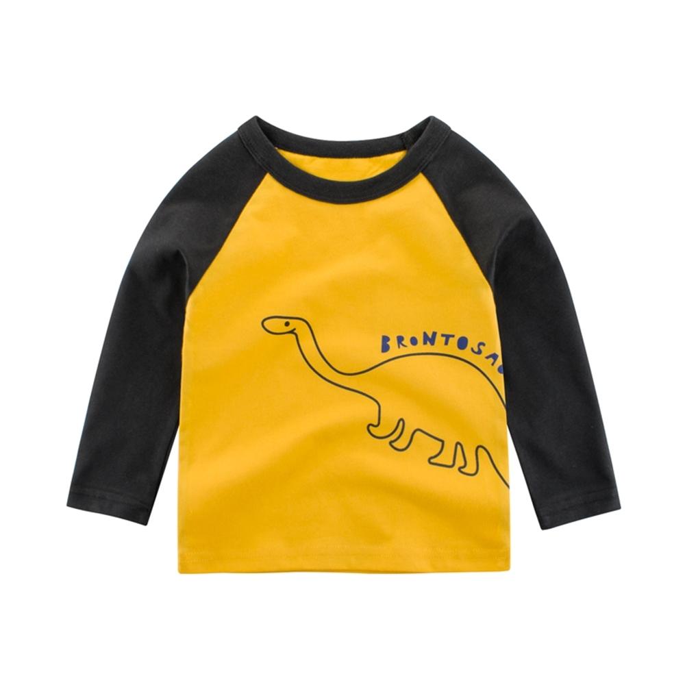 兒童 腕龍線條字母印花上衣 TATA KIDS