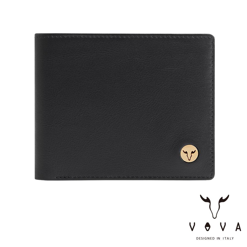 VOVA 費城系列8卡皮夾-摩登黑