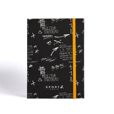 Sport b.黑色塗鴉空白筆記本