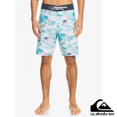 【 QUIKSILVER】SURFSILK MYSTIC SESSIONS 19 衝浪褲 藍色