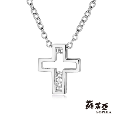 蘇菲亞SOPHIA-愛的信仰18K鑽鍊