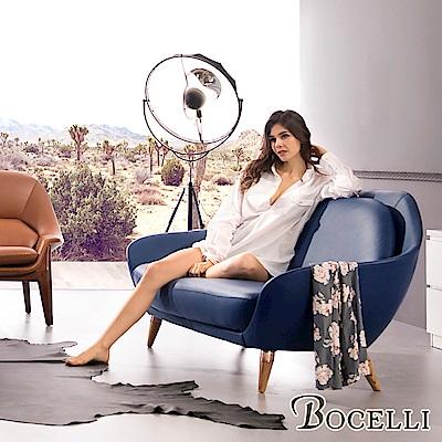 BOCELLI-SAGGEZZA智慧風尚沙發3seat(義大利牛皮)優雅深藍