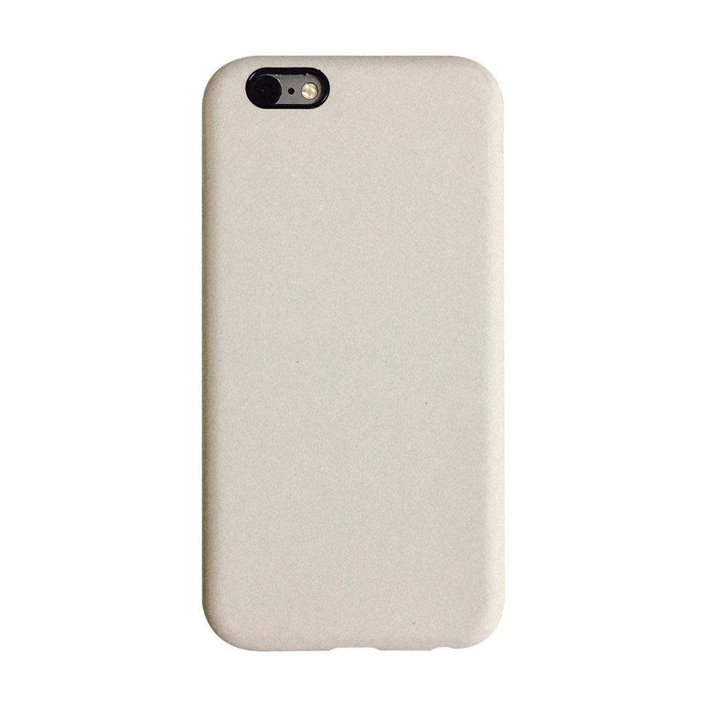 【TOYSELECT】iPhone 7/8 Plus 文藝液態矽膠全包防摔殼:古董白