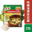 康寶濃湯 味噌海帶芽豆腐湯(2入)