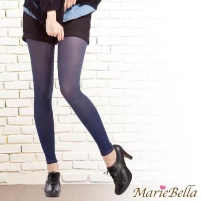 MarieBella 120D高彈力牛仔九分褲襪