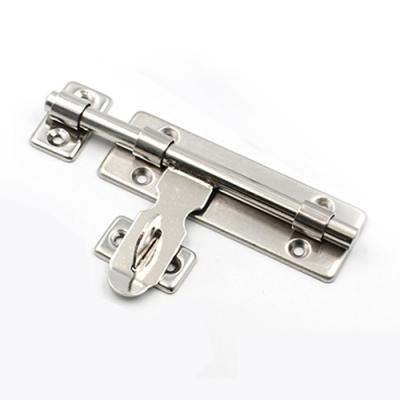 HE004 不銹鋼 8寸掛鎖左右插銷/門閂/門扣/大門搭扣/天地閂門鎖牛鼻插銷