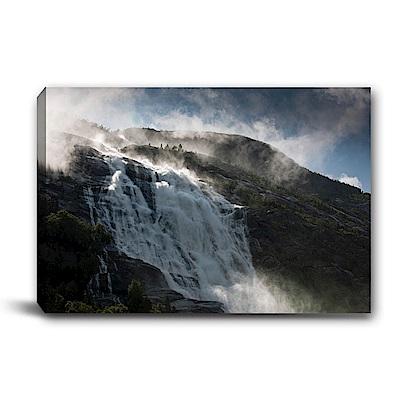 美學365-單聯式橫幅 掛畫無框畫 高山雪景-60x40cm