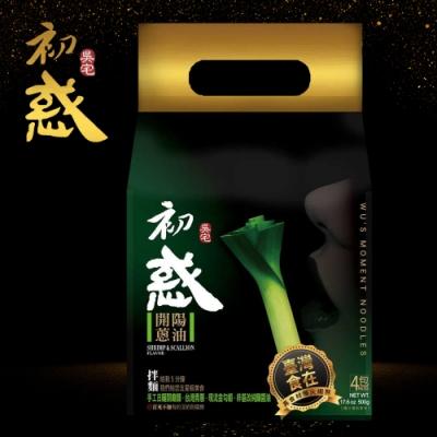 吳宅 初惑麵館-開陽蔥油 114g (4入/包)