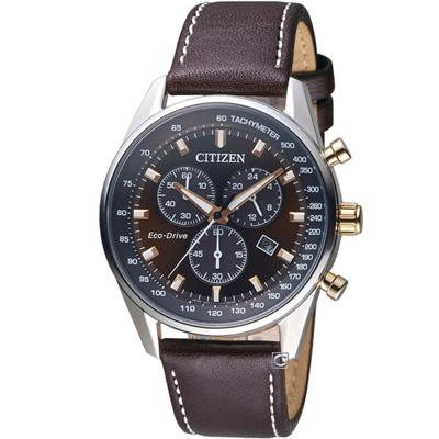 CITIZEN 嶄新革命光動能腕錶(AT2396-19X)40mm