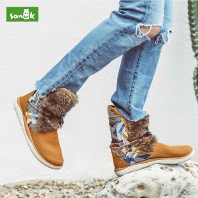 [時時樂限定] SANUK 內刷毛女靴(多款)
