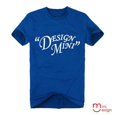 (男款)minidesign字母潮流設計短T 三色-Minidesign