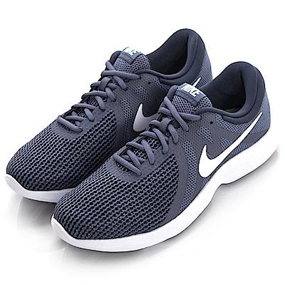 NIKE-男慢跑鞋908988004-灰藍