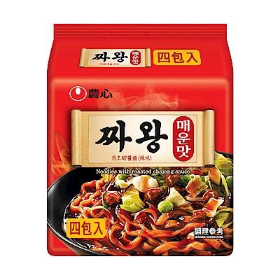農心炸王辣味醡醬麵(140g*4入)