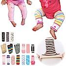 日本同步【適合0~1Y】短款-兒童 護膝 爬行襪套 kiret-超值3雙