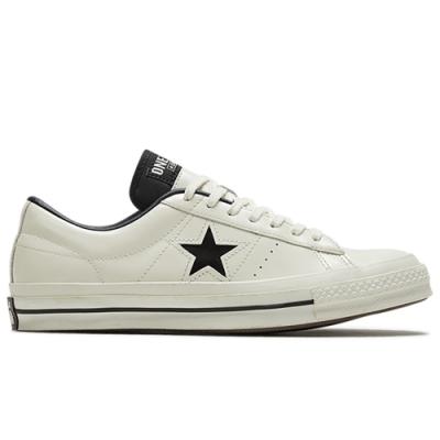 CONVERSE ONE STAR HANBYEOL OX 女 休閒鞋 米白皮革-167324C