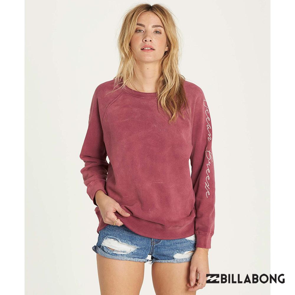 BILLABONG-OFF CHANCE長上衣-紫紅