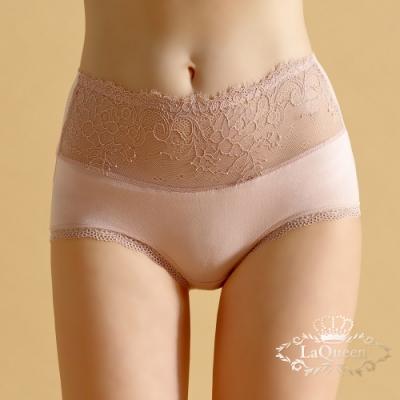 內褲 無痕蠶絲柔軟美臀小褲-膚 La Queen
