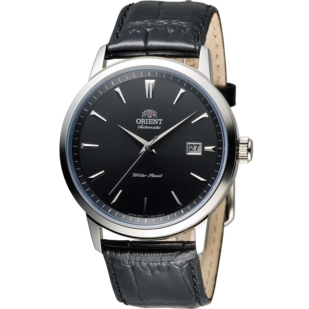 ORIENT 簡約時尚機械錶(FER27006B)41mm