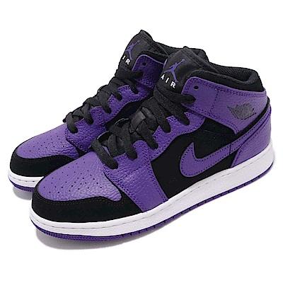 Nike 休閒鞋 Jordan 1代 中筒 女鞋
