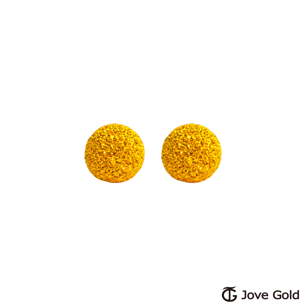 Jove gold 呢喃黃金耳環-小 product image 1