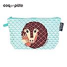 【COQENPATE】法國有機棉無毒環保化妝包 / 筆袋- 畫筆兒的家 - 穿山甲