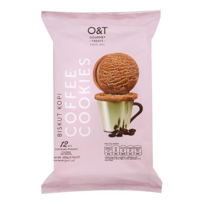 O&T 咖啡風味曲奇餅(105g)