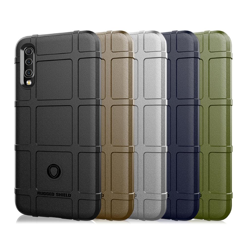 QinD SAMSUNG Galaxy A50 戰術護盾保護套