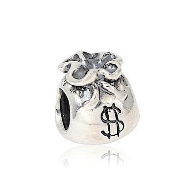 Pandora 潘朵拉 魅力小錢袋 純銀墜飾 串珠
