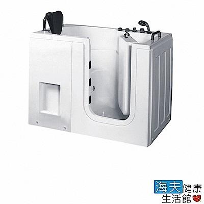海夫健康生活館 開門式浴缸 內開式 105-T 恆溫水柱按摩款 (120*78*90cm)