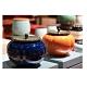原藝坊 柿柿如意 雙喜密封茶葉罐儲物罐一對(罐子尺寸9*8cm) product thumbnail 1