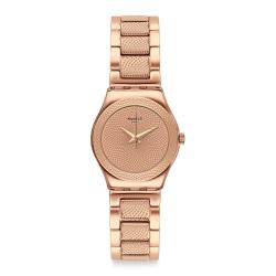 Swatch 金屬系列 FULL ROSE 金屬-耀眼玫瑰金 -25mm