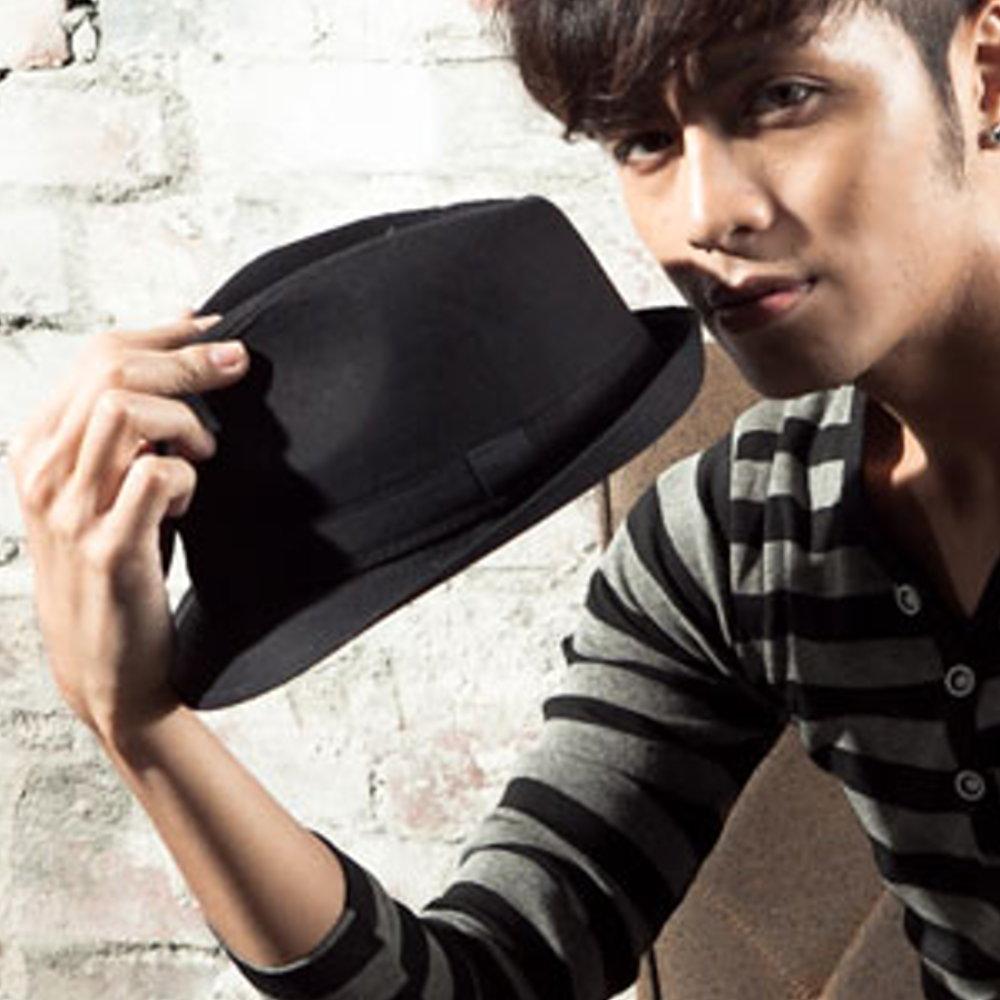BuyGlasses 大人氣韓風深黑紳士帽 活動 表演