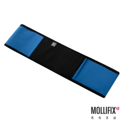 Mollifix 瑪莉菲絲 健身環狀彈力帶 (藍綠+黑)