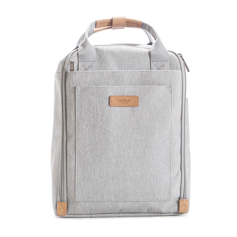 GOLLA 北歐芬蘭時尚極簡後背包- G2156 透明灰 13吋
