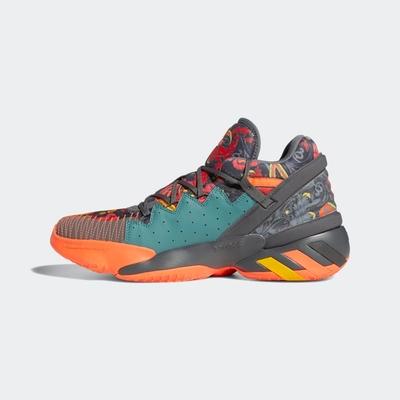 ADIDAS D.O.N. Issue 2 GCA 男籃球鞋-灰橘-FX7432