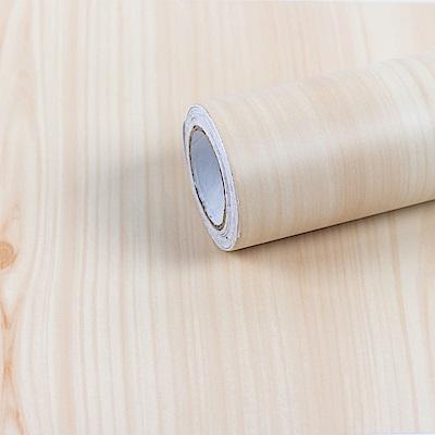 樂嫚妮 DIY裝修加厚防水仿木紋壁貼 60X300cm
