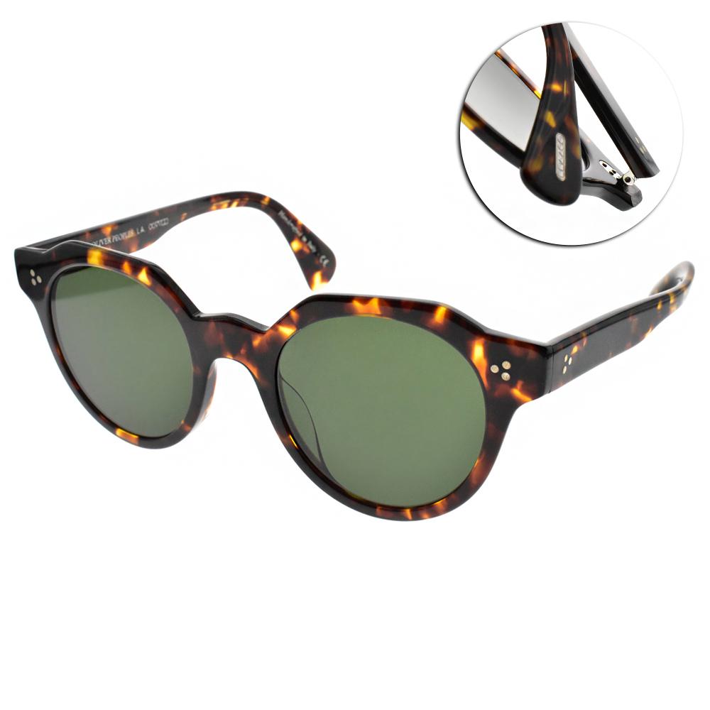 OLIVER PEOPLES太陽眼鏡 復古經典/琥珀 #IRVEN 165471