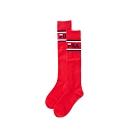 FILA 基本款棉質長筒襪-紅 SCU-1304-RD