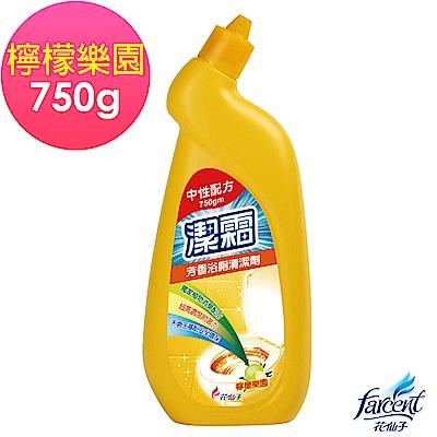 潔霜芳香浴廁清潔劑(檸檬樂園)750gm