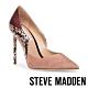 STEVE MADDEN-PROMOTION 羊皮拼接迷人尖頭高跟鞋-粉色 product thumbnail 1