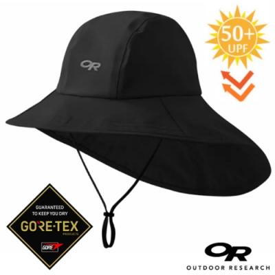 Outdoor Research Seattle Cape Hat GORE-TEX 防風防水透氣保暖大盤帽子.圓盤帽_黑