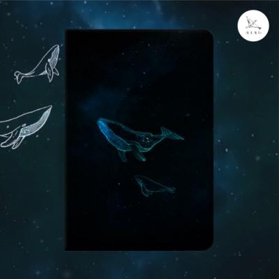 【漁夫原創】iPad 保護殼 mini 1/mini 2/mini 3 鯨魚(書本 硬殼)