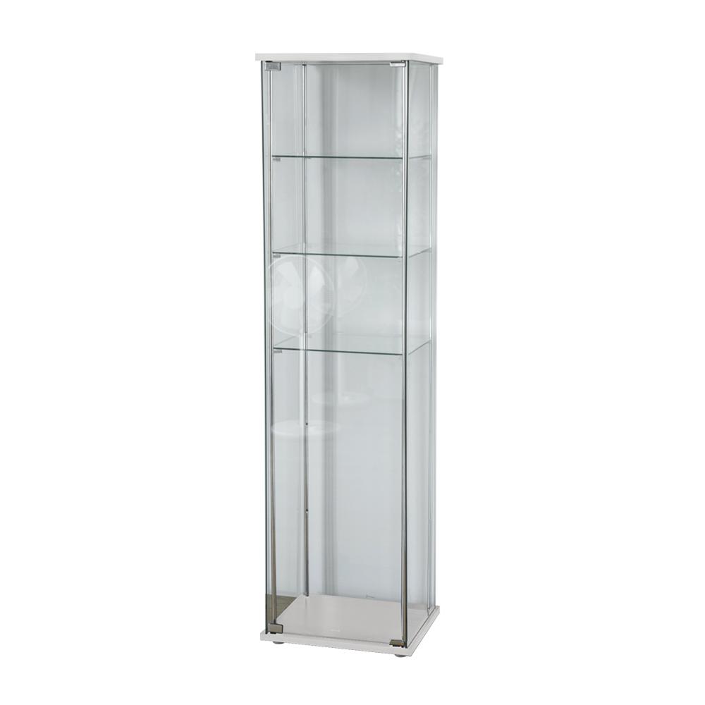 完美主義 四層玻璃櫃/展示櫃/公仔收藏/酒櫃(2色)