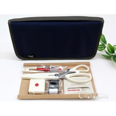週週下殺 限量5折 縫紉收納夾(含縫紉工具)SUN80-97藍 9/17~9/24 9:00