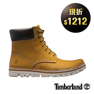 Timberland 女款小麥黃絨面皮革6 吋綁帶靴