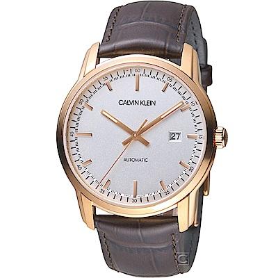 Calvin Klein Infinite無限紳士機械錶(K5S346G6)-42mm